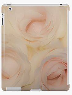 Time to BLOOM! The Dreamy Pink Roses Tablet Case / Cover by Jacqueline Cooper- #art #tabletcase #decor #flower #roses #photography Flower Lover? This up close image of dreamy pink roses is bound to be a hit. The image can be purchased as a print and on many great products. Just click on the visit link for more! For more inspirational images, quotes and mindful reads visit myaspiringsoulfullife.com.