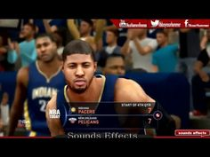 NBA 2K16 - Indiana Pacers Vs New Orleans Pelicans Gameplay HD ✔