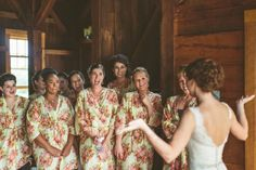 Light Yellow Wedding Theme Ideas - Knee length Robe Style Made From CC3 Fabric Pattern.