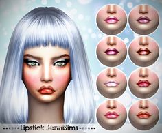 Sims 4 CC's - The Best: Lipstick by JenniSims
