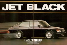 SAAB 99 Turbo Advert 1978