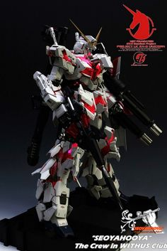 PG 1/60 Unicorn Gundam + LED Set - Customized Build    PG 1/60 RX-0 Unicorn Gundam (Release Date: Dec 11th 2014, Price: 21600 Yen)  GG INF...