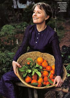 """""""Our full humanity is contingent on our hospitality: we can be complete only when we are giving something away; when we sit at the table and pass the peas to the person next to us we see that person in a whole new way."""" Alice Waters"""