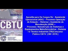 Apostila Concurso Público CBTU  [ BH  2016 ]