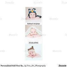 Personalized Add Your Baby - Kids Portrait Collage Canvas Print Add 3 of your adorable baby boy or girl, kids, family or special photo to this wall panel collage. Email me @ support@tlcgraphix if you need assistance customizing this canvas. A high resolution photo will work best to give you beautiful results. You could also add any other special photo - engagement, wedding anniversary, graduation, Christmas, new baby, vacation or birthday.