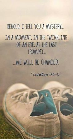 1 Corinthians 15:51-53