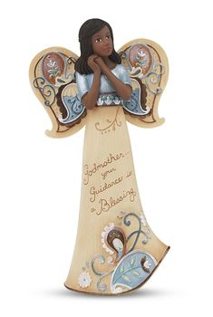 """EBN Godmother, 6"""" EBN Angel - Perfectly Paisley - Pavilion Gift Company. $18"""