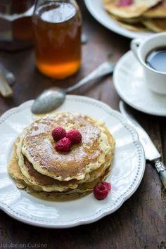 Blinis, Pancakes ou crêpes version sans gluten à la farine de coco et riz, et sans lait à l'eau