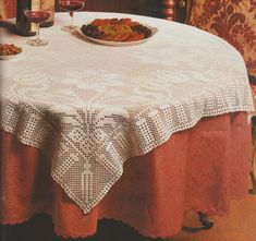 Tricot D'art, Hui, Blog, Home Decor, Table Toppers, Tablecloths, Good Morning Friends, Welcome, Decoration Home