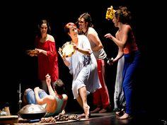 """A parceria entre a Cia da Ideia e Guga Machado leva para o Teatro Municipal do Jockey - Centro de Referência Cultura Infância o espetáculo de dança """"Batuque Contemporâneo""""."""