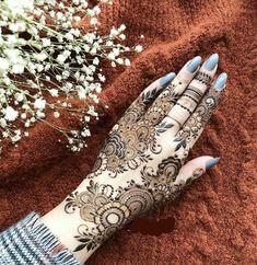 Modern Henna Designs, Latest Arabic Mehndi Designs, Eid Mehndi Designs, Mehndi Designs For Girls, Mehndi Design Images, Art Designs, Foot Henna, Henna Mehndi, Hand Henna