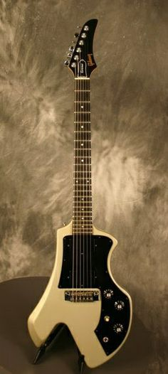 Gibson Corvus => introduced 1982, discontinued 1984