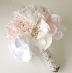 chiffon flower bouquet