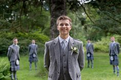 Wedding at Dunkeld House Hotel - the groomsmen in tartan Groomsmen, Tartan, Wedding Photos, House, Fashion, Marriage Pictures, Moda, Home, Fashion Styles