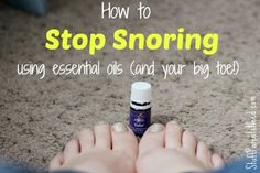 How to Stop Snoring Using Essential Oils!