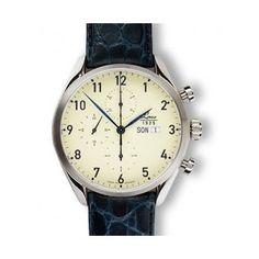 Reloj Cronografo Laco   http://www.tutunca.es/reloj-crono-laco-valjoux-44-automatico-crema-piel-azul