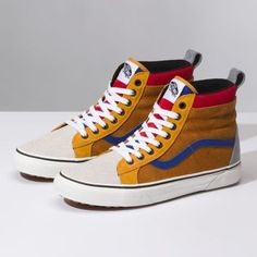 2e745a31f4 The Sk8-Hi MTE revamps the legendary Vans high top with additions designed  for the