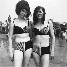 Diane Arbus Two Girls in Matching Bathing Suits, Coney Island, NY, 1967