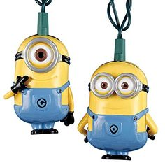 Despicable Me Movie Minions 10 String Light Set  IndoorOutdoor Decorations ** Click on the image for additional details.