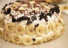 Chocolate and banana cake recipes easy Banoffee Pie, Easy Cake Recipes, Baking Recipes, Cheesecakes, Torte Recepti, Sweet Cakes, Relleno, No Bake Cake, Stuffed Mushrooms
