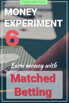 Ever heard of matched betting? Of earning £500 extra every month? I'm doing an experiment to see if it really works | Financially Mint | #matchedbetting #earnmoneyonline