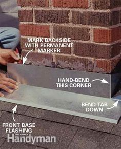 Roof Flashing Techniques For Outside Corners Pinterest