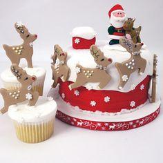 Wilton Set Of 4 Reindeer Cookie Cutters Set - image 2