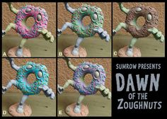 Dawn of the Zoughnuts | John Sumrow