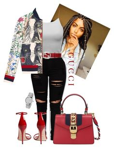 """""""Untitled #119"""" by purple4048 on Polyvore featuring Gucci"""