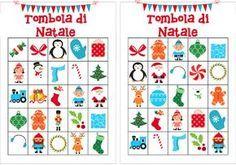 Tombola di natale da colorare bambini christmas free printable bingo cards christmas bingo for Tombola di natale da stampare