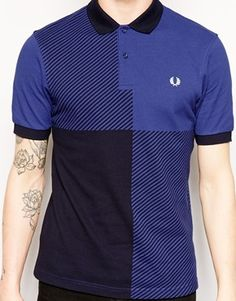 Enlarge Fred Perry Gingham Polo Shirt