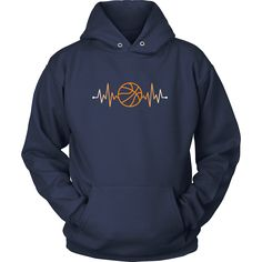Show how proudBasketball fan you are wearing Basketball Rhythm Basketball PulseTee or Hoodie. Custom men & women Basketball shirts by TeeLime.Cool designs.