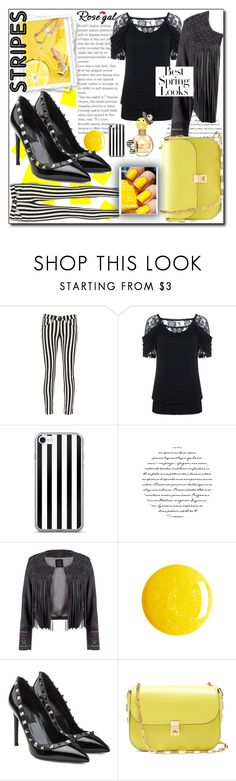 """It's all about the contrast"" by sugarontop ❤ liked on Polyvore featuring rag & bone/JEAN, Lea Lov, Valentino, Marc Jacobs and H&M"
