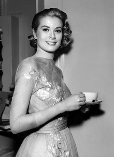 Princess Grace. I really need to have this blown up for my coffee kitchen