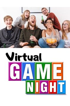 How to Host the Perfect Virtual Game Night! Are you looking for ways to stay connected while social distancing? Hosting a virtual game night is a great way to stay connected with your family and friends. Virtual Family Games, Virtual Families, Group Games, Fun Games, Games To Play, Food Games For Kids, Game Night Parties, Night Games, Game Night Decorations