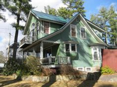 Cozy Victorian style home featuring a Master suite with private deck, fieldstone propane fireplace, built-ins, open kitchen/dining room, large baths and partially finished basement, front porch and private enclosed patio. Lovely   Victorian appointments can be found throughout, such as moldings and leaded glass cabinet doors.  All North Conway Village amenities are just a short walk away.