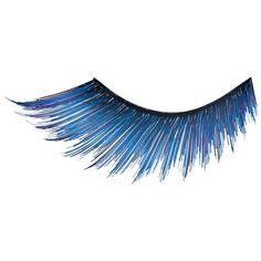 False Eye Lashes 011 ($18) ❤ liked on Polyvore featuring beauty products, makeup, eye makeup, false eyelashes, eyes, beauty, eyelashes, blue and illamasqua