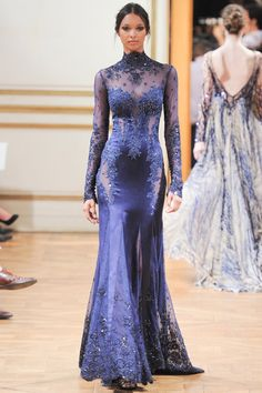 Only if there's no dinner that evening ...  Zuhair Murad | Fall 2013