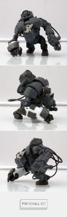 a heavily modified Nob, by His Master's Voice. how does he sculpt the hands that way? - created via http://pinthemall.net