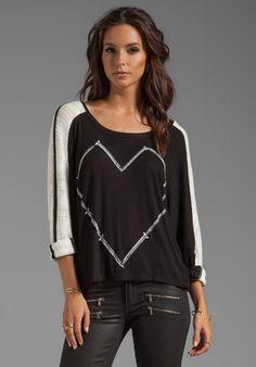 nail heart rib sweater - cute!!