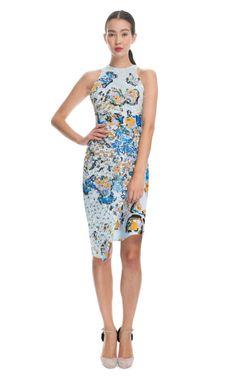 Michael van der Ham Sequined Print Dress - AMAZING