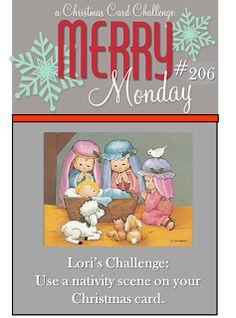 Merry Monday #206 {Nativity}