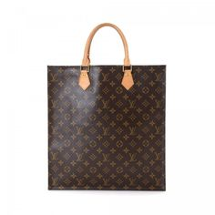 5f9ea923548 Louis Vuitton Sac Plat Monogram Coated Canvas - LXRandCo - Pre-Owned Luxury  Vintage