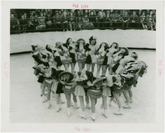 Sports - Ice Skating - Chorus girls dancing on ice skates - ID: 1683169 - NYPL Digital Gallery