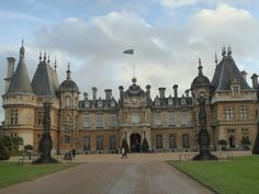 Waddesdon Manor looks amazing from the outside