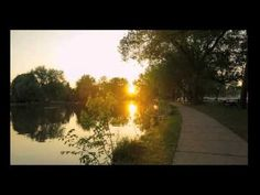 Stratford morning sunrise by the Avon River. Music by Sunshine Music, Stratford Ontario, Morning Sunrise, Avon, Writers, Country Roads, Photo And Video, Places, Sign Writer