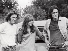 Laurie Bird, Dennis Wilson, and James Taylor {Two Lane Blacktop}