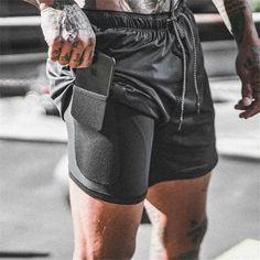 Double layer Jogger Shorts Men 2 in 1 Short Pants Gyms Fitness Built-in pocket Bermuda Quick Dry Beach Shorts. Title: Double layer Jogger Shorts Men 2 in 1 Short Pants Gyms Fitness Built-in pocket Mens Gym Shorts, Sport Shorts, Men's Shorts, Mens Running Shorts, Shorts For Men, Mens Gym Wear, Mens Sweatpants, Running Leggings, Running Gear