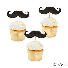 Enjoy these fun ways to dress up Mustache Movember party treats or mustache party appetizers. A unique addition to your party supplies, these Mustache Picks ...