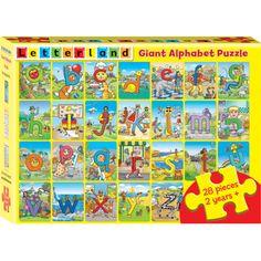 Giant Alphabet Puzzle | Letterland | Child-friendly phonics